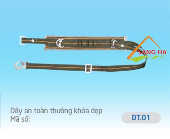 Dây an toàn thường móc dẹp - DT.01