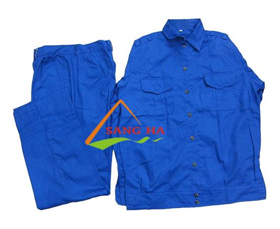 Quần áo bảo hộ vải Kaki VN