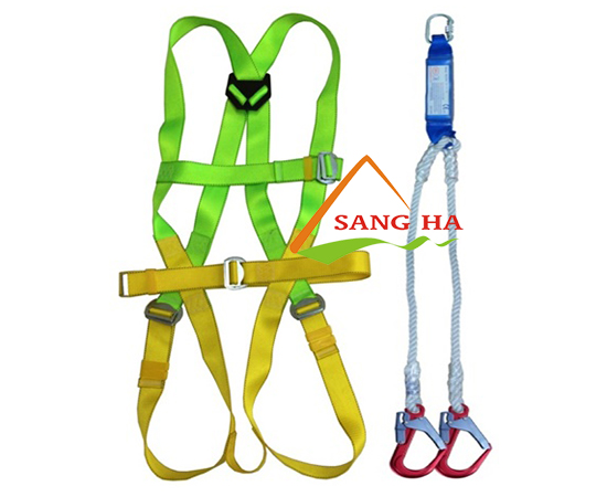 Bộ dây an toàn chống sốc 2 móc nhôm