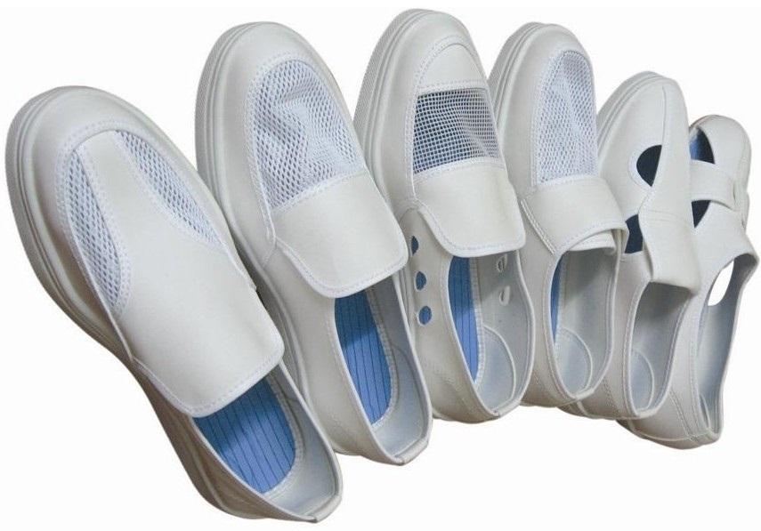 Phân phối sỉ giày phòng sạch 4 lỗ tại TP.HCM