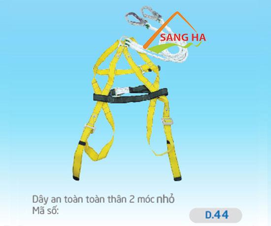 Dây an toàn toàn thân 2 móc nhỏ - D.044