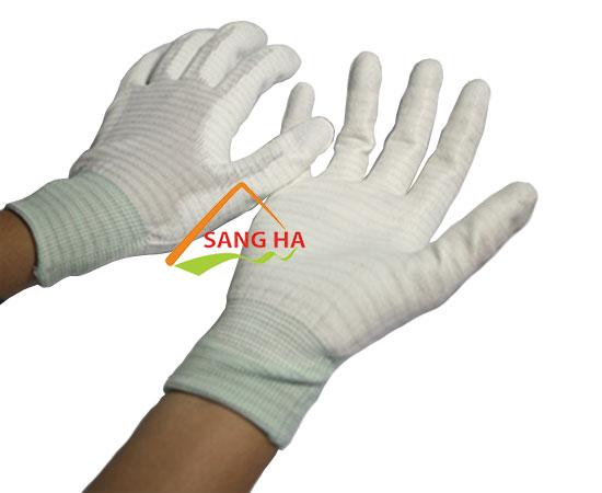 Găng tay chống tĩnh điện phủ PU bàn tay giá tốt HCM