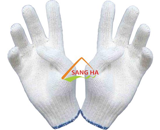 Găng tay len poly 40g