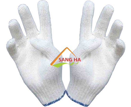 Găng tay len poly 70g