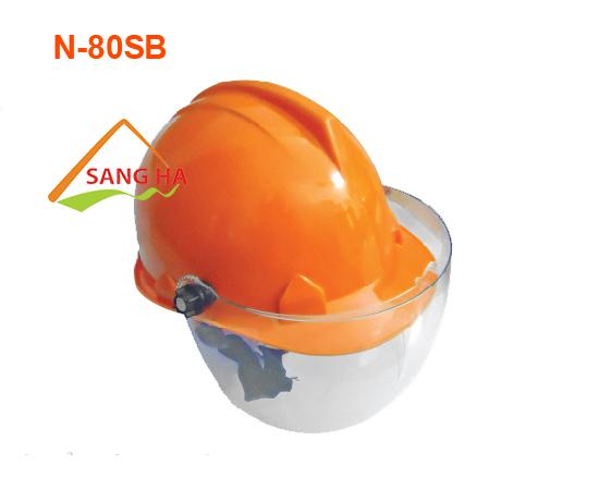 Nón bảo hộ nhựa kính trong - N.80SB