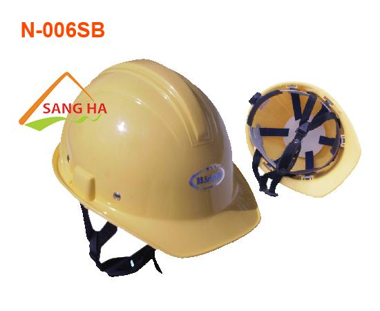 Nón bảo hộ nhựa - N.006SB