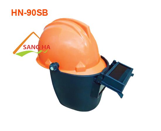 Nón bảo hộ nhựa mặt nạ hàn - HN.90SB