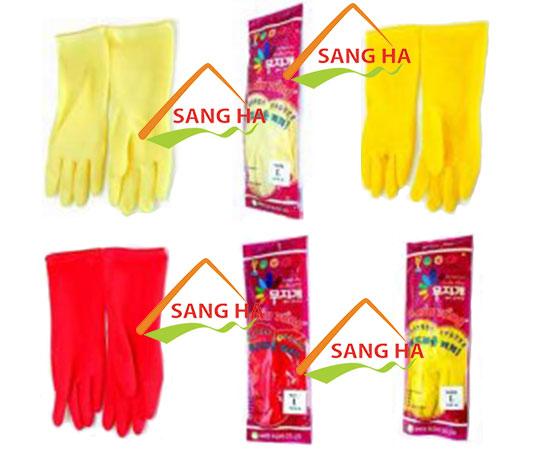 Găng tay cao su Cầu Vồng - trung