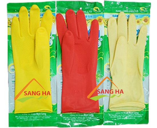 Găng tay cao su Hướng Dương - trung
