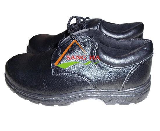 Giày bảo hộ lao động ABC Suýt chỉ đen