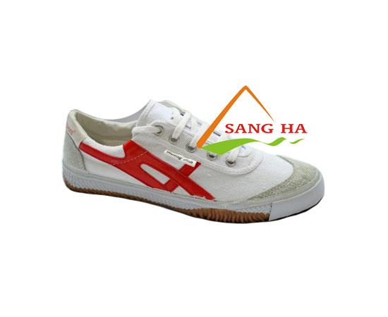 Giày Bata vải Bình Minh sọc đỏ