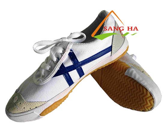 Giày Bata vải Bình Minh sọc xanh