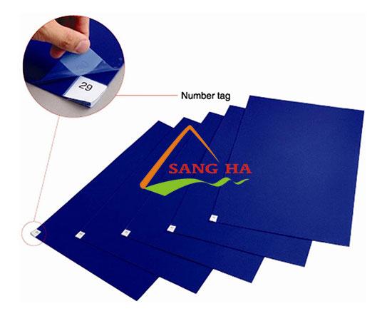 Thảm dính bụi phòng sạch Sticky mat 30 miếng/tấm (60 x 45cm)
