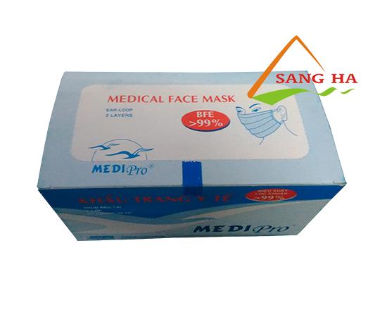 Khẩu trang y tế Medipro 3 lớp