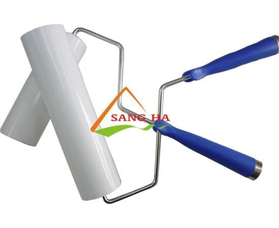 Cuộn lăn dính bụi phòng sạch ( cả bộ ) 4 inch