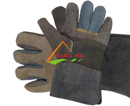 Găng tay da hàn ngắn nhiều màu