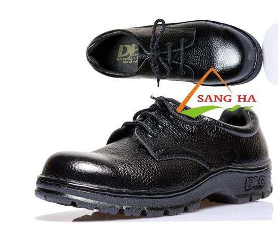Giày bảo hộ DH-group đen thấp cổ