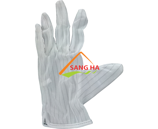 Găng tay chống tĩnh điện vải polyester
