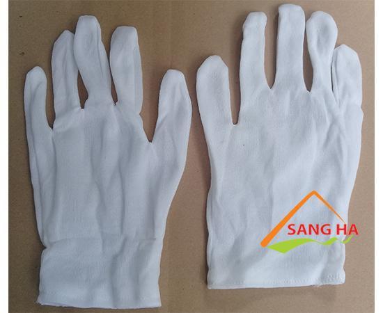 Găng tay vải thun L+2