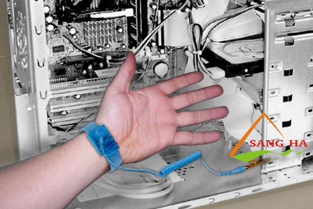 Vòng đeo tay chống tĩnh điện có dây