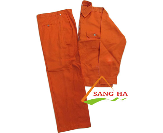 quần áo công nhân vải kaki nam định