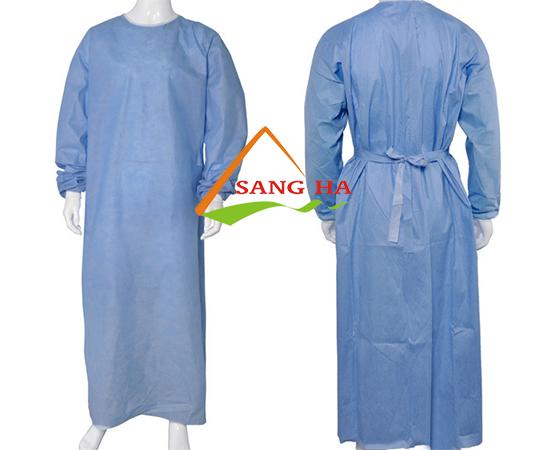 Áo bệnh nhân vải không dệt