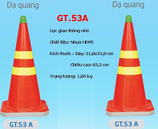 Cọc giao thông nhỏ dạ quang GT53