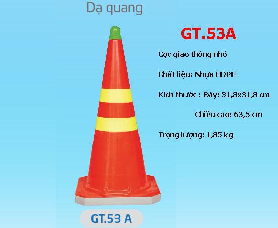 Cọc giao thông nhỏ dạ quang - GT.53A