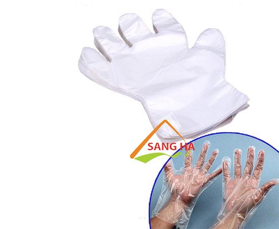 Găng tay nilon - xốp