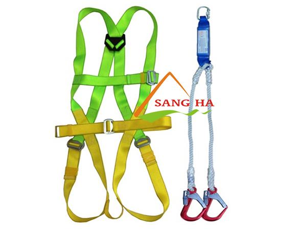 Bộ dây an toàn chống sốc 2 móc thép