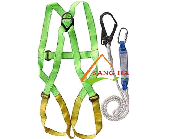 Bộ dây an toàn chống sốc 1 móc thép