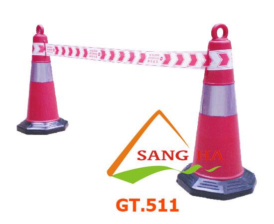 Cọc giao thông lớn phản quang GT511