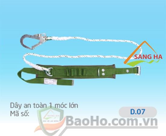 Dây an toàn 1 móc lớn (dây tơ) – D.07