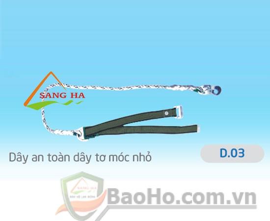 Dây an toàn 1 móc nhỏ (dây tơ) – D.03