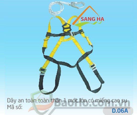 Dây an toàn toàn thân 1 móc lớn – D.06A – Chống sốc
