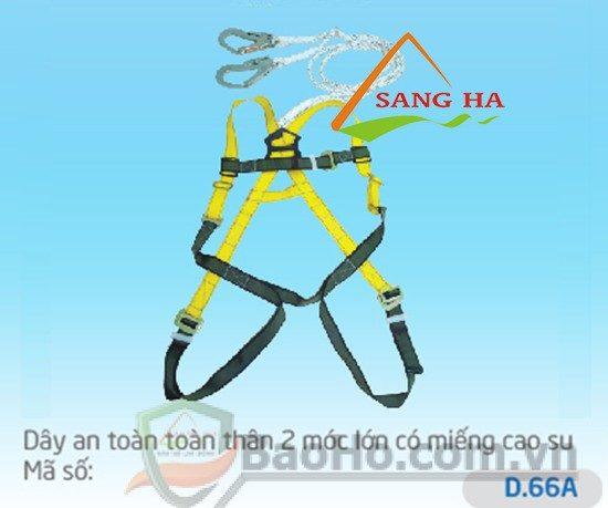 Dây an toàn toàn thân 2 móc lớn – D.66A Chống sốc