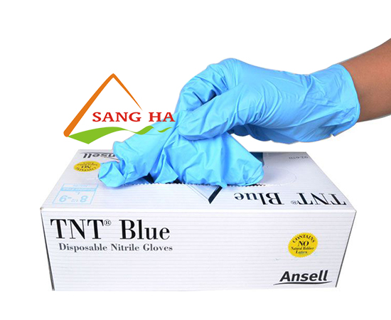 găng tay y tế nitrile Ansell