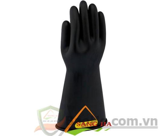 Găng tay cách điện cao áp 20KV – Novax (đen)