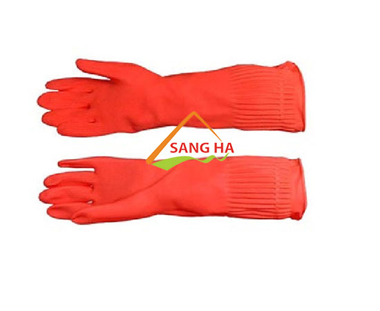 Găng tay cao su Hợp Thành dài