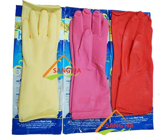 Găng tay cao su Hướng Dương dài