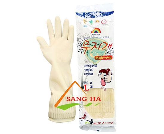 Găng tay cao su Cầu Vồng – dài