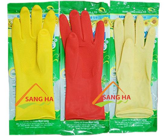Găng tay cao su Hướng Dương mini