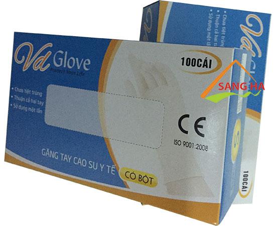 Găng tay y tế VGlove chất lượng cao giá sỉ rẻ nhất tại TPHCM