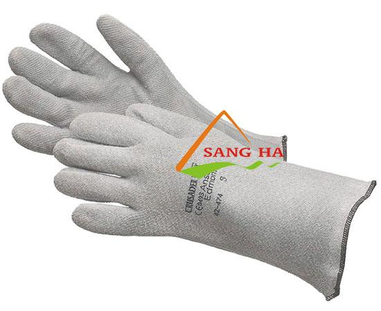 găng tay chịu nhiệt ansell