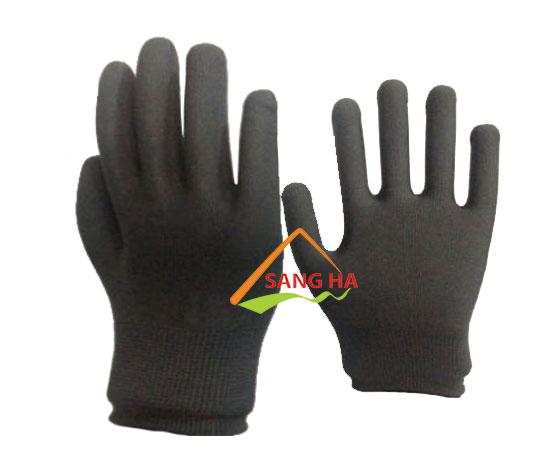 găng tay chống tĩnh điện thun xám