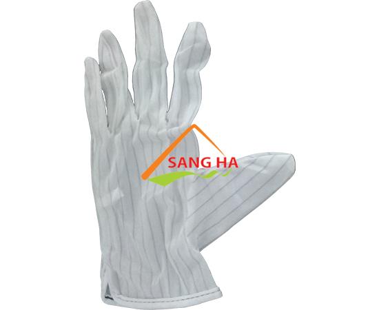 găng tay polyester chống tĩnh điện