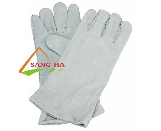 găng tay da hàn mềm dài