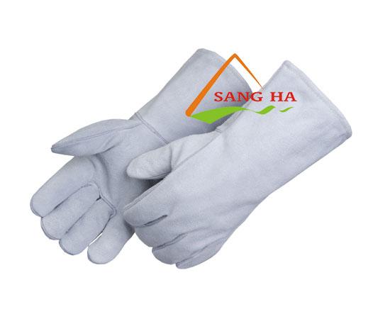 Găng tay da hàn ngắn mềm