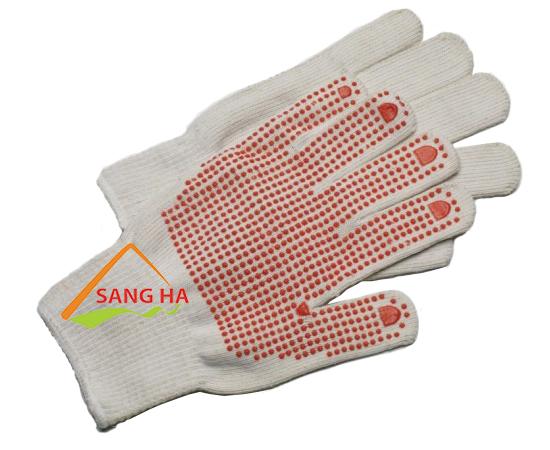 găng tay len phủ hạt nhựa 70g