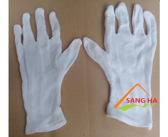 găng tay vải thun pe+3